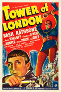 """Movie Posters:Horror, Tower of London (Universal, 1939). One Sheet (27"""" X 41"""") Style A.. ..."""