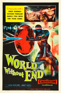 "World Without End (Allied Artists, 1956). One Sheet (27"" X 41"")"