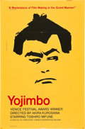 "Movie Posters:Action, Yojimbo (Seneca International, 1961). One Sheet (27"" X 41"").. ..."
