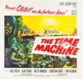 "Movie Posters:Science Fiction, The Time Machine (MGM, 1960). Six Sheet (81"" X 81"").. ..."