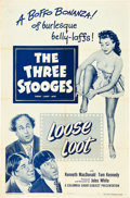 "Movie Posters:Comedy, Loose Loot (Columbia, 1953). One Sheet (27"" X 41"").. ..."