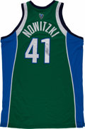 Basketball Collectibles:Uniforms, 2006-07 Dirk Nowitzki Mavericks Game Worn, Signed Dallas MavericksJersey - From MVP Season!! - With MeiGray Provenance....