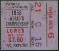 """Football Collectibles:Tickets, 1958 NFL Championship Game Colts vs. Giants Ticket - """"Greatest Game Ever Played""""...."""