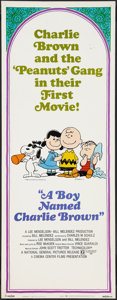"Movie Posters:Animated, A Boy Named Charlie Brown (National General, 1969). Insert (14"" X 36""). Animated.. ..."