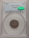 Bust Dimes: , 1820 10C Large 0 XF45 PCGS. CAC. PCGS Population (5/112). NGCCensus: (9/187). Mintage: 942,587. Numismedia Wsl. Price for ...