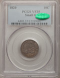 Bust Dimes: , 1820 10C Small 0 VF35 PCGS. CAC. PCGS Population (2/12). NumismediaWsl. Price for problem free NGC/PCG...