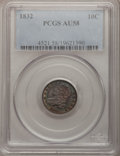 Bust Dimes: , 1832 10C AU58 PCGS. PCGS Population (31/116). NGC Census: (39/157).Mintage: 522,500. Numismedia Wsl. Price for problem fre...
