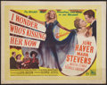 """Movie Posters:Musical, I Wonder Who's Kissing Her Now (20th Century Fox, 1947). British Half Sheet (22"""" X 28""""). Musical.. ..."""