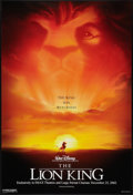 "Movie Posters:Animated, The Lion King Lot (Buena Vista, R-2002). One Sheets (2) (27"" X 40"")DS Advance. Animated.. ... (Total: 2 Items)"