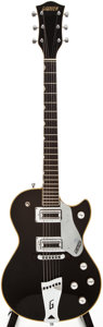 Musical Instruments:Electric Guitars, Early 1970s Gretsch Roc Jet Black Solid Body Electric Guitar, #N/A....