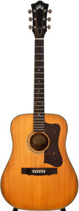 Musical Instruments:Acoustic Guitars, 1964 Guild D-50 Natural Acoustic Guitar, #31362....
