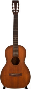 Musical Instruments:Acoustic Guitars, 1922 Martin 00-18 Natural Classical Guitar, #17432....