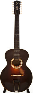 Musical Instruments:Acoustic Guitars, 1918 Gibson L-3 Sunburst Acoustic Guitar, #41209....
