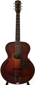 Musical Instruments:Acoustic Guitars, 1915-21 Gibson L-4 Sunburst Acoustic Guitar, #N/A....