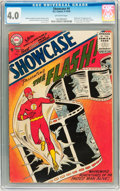Silver Age (1956-1969):Superhero, Showcase #4 Flash (DC, 1956) CGC VG 4.0 Off-white pages....