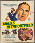 Baseball Collectibles:Others, 1951 Angels in the Outfield Original Movie Poster....