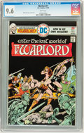 Bronze Age (1970-1979):Miscellaneous, Warlord #1 (DC, 1976) CGC NM+ 9.6 White pages....