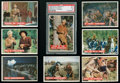 Non-Sport Cards:Sets, 1956 Topps Davy Crockett - Orange Complete Set (80). ...