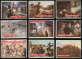 Non-Sport Cards:Sets, 1956 Topps Davy Crockett - Green Complete Set (80). ...
