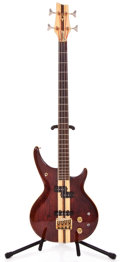 Musical Instruments:Electric Guitars, 1982 Daion Power Mark XX-B Natural Electric Bass Guitar #821311...