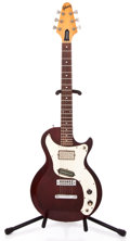 Musical Instruments:Electric Guitars, 1976 Gibson Marauder Wine Red Solid Body Electric Guitar...