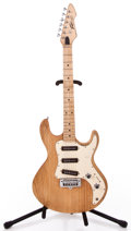 Musical Instruments:Electric Guitars, 1980s Peavey T-30 Natural Solid Body Electric Guitar #01410381...