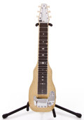 Musical Instruments:Lap Steel Guitars, 1950s Fender Champion Yellow MOTS Lap Steel Guitar #4015...