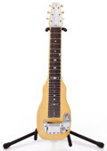 Musical Instruments:Lap Steel Guitars, 1950s Fender Champion Yellow MOTS Lap Steel Guitar #1368...