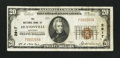 National Bank Notes:Kentucky, Hustonville, KY - $20 1929 Ty. 1 The NB of Hustonville Ch. # 2917....