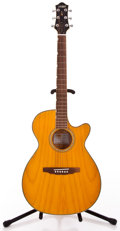 Musical Instruments:Acoustic Guitars, Recent Gretsch G3373 Amber Acoustic Guitar #311291301...