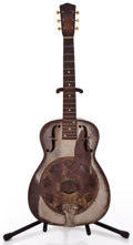 Musical Instruments:Resonator Guitars, 1936 National Duolian Silver Resonator Guitar #A1414...