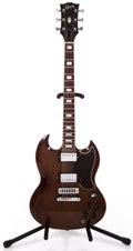 Musical Instruments:Electric Guitars, 1973 Gibson SG Standard Cherry Solid Body Electric Guitar Serial#779248...