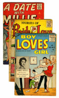 Golden Age (1938-1955):Romance, Miscellaneous Golden/Silver Age Romance/Humor Group (VariousPublishers, 1950s-60s).... (Total: 17 Comic Books)