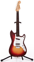 Musical Instruments:Electric Guitars, 1962 Fender Duo-Sonic Red Burst Solid Body Electric Guitar#84518...