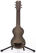 Musical Instruments:Lap Steel Guitars, 1930s Rickenbacher Electro Green Lap Steel Guitar ...