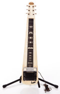 Musical Instruments:Lap Steel Guitars, 1950s Supero Steel White MOTS Lap Steel Guitar #X30090...