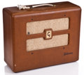 Musical Instruments:Amplifiers, PA, & Effects, 1950s Gibson 110 Brown Guitar Amplifier ...