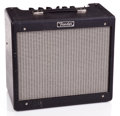 Musical Instruments:Amplifiers, PA, & Effects, Recent Fender Blues Jr. Black Guitar Amplifier #B-097-380...