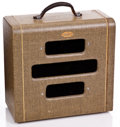 Musical Instruments:Amplifiers, PA, & Effects, 1950s Valco Supro Tweed Guitar Amplifier #X23375...