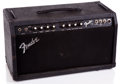 Musical Instruments:Amplifiers, PA, & Effects, 1980s Fender 75 Black Guitar Amplifier ...