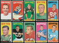 Football Cards:Sets, 1965 Topps Football Collection (100). ...