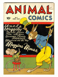 Golden Age (1938-1955):Funny Animal, Animal Comics #3 (Dell, 1943) Condition: FN....