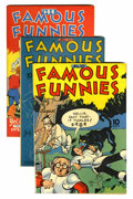 Golden Age (1938-1955):Miscellaneous, Famous Funnies Group (Eastern Color, 1943-48) Condition: Average VF.... (Total: 6 Comic Books)