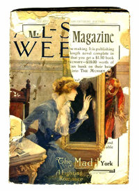 All-Story Weekly V29#2 (Miscellaneous Publishers, 1914) Condition: FR