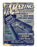 Pulps:Science Fiction, Amazing Stories Quarterly - Fall 1941 Issue (Radio-SciencePublications, 1941) Condition: FR/GD....