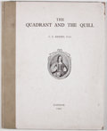 Books:World History, Cyril Ernest Kenney. The Quadrant and the Quill. London: [Metchum and Son], 1947. Later edition. Large quarto. Publi...