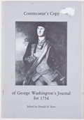 Books:Americana & American History, Ten Various Pamphlets on the Revolutionary War, including:Winter Encampments of the Revolution; Contrecoeur's Copy ofG...