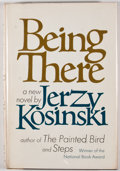 Books:First Editions, Jerzy Kosinski. Being There. New York: Harcourt BraceJovanovich, [1970]. First edition, first printing. Octavo....