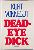 Books:First Editions, Kurt Vonnegut. Deadeye Dick. [New York]: DelacortePress/Seymour Lawrence, [1982]. First edition, first printing.Oc...