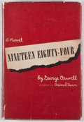 Books:First Editions, George Orwell. Nineteen Eighty-Four. New York: Harcourt,Brace and Company, [1949]. First American edition, first pr...